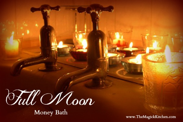 The Magick Kitchen Full Moon Money Bath