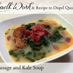 Spicy Sausage and Kale Soup & Spell Work