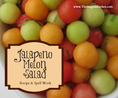 Jalapeno Melon Salad Recipe