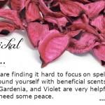 Magickal Tip – Using Scent