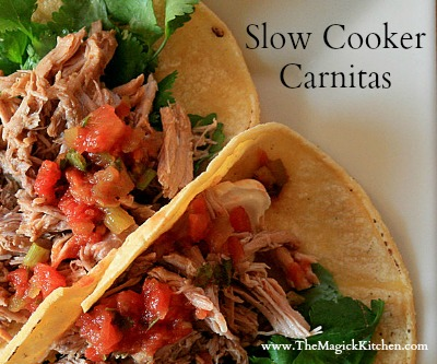 Slow Cooker Carnitas Recipe The Magick Kitchen