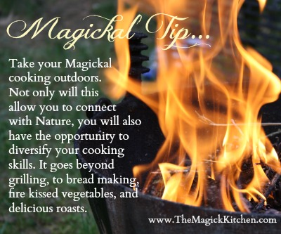 The Magick Kitchen Cooking Outdoors