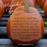 Magickal Tip – Magickal Pumpkin Carving