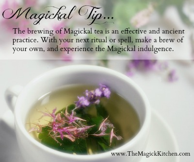 The Magick Kitchen Magickal Tea Tip