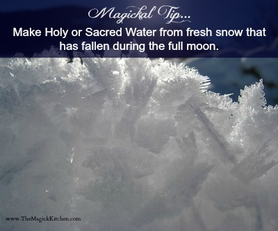 TheMagickKitchenSacredSnowWater