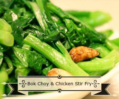Bok Choy & Chicken Stir Fry - The Magick Kitchen