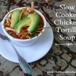 Spicy Slow Cooker Chicken Tortilla Soup