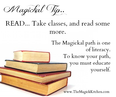 The Magick Kitchen Literacy Tip