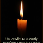 Magickal Tip: Use Candles