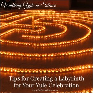 Walking Yule in Silence Tips for Creating a Labyrinth for Your Yule Celebration