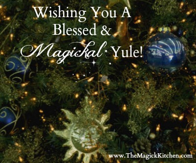 Yule Greeting The Magick Kitchen