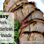 Easy Roasted Pork Tenderloin with Veggies