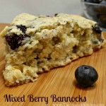 Mixed Berry Bannocks