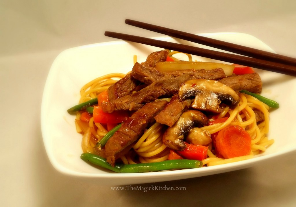The Magick Kitchen Beef Lo Mein