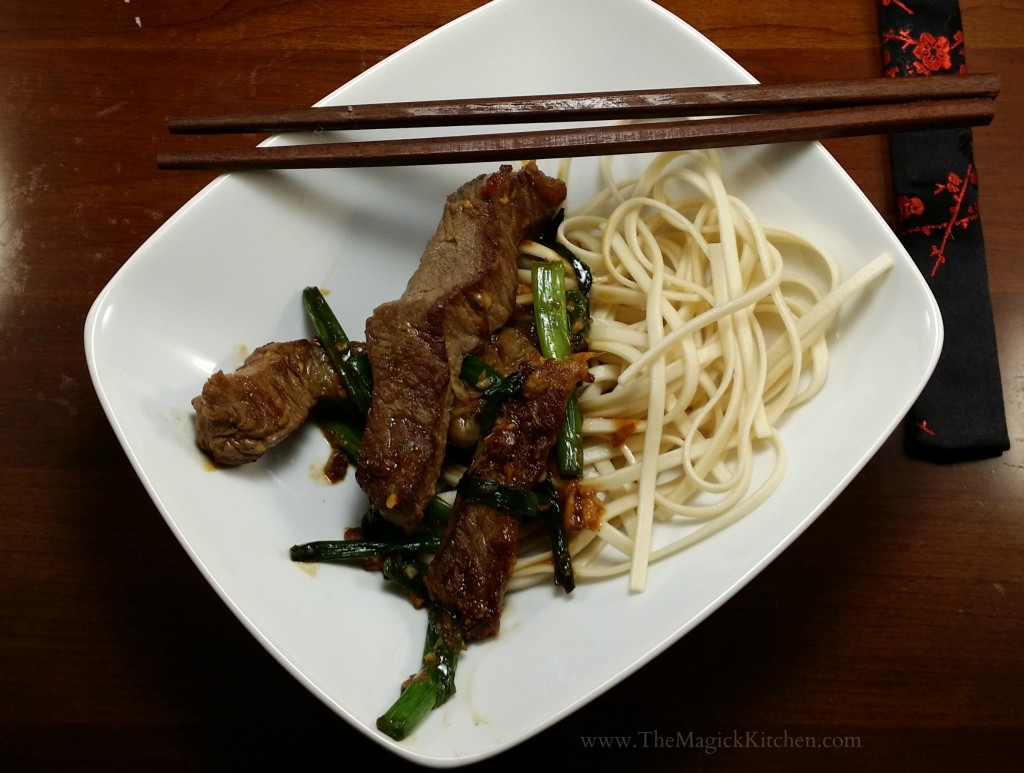 The Magick Kitchen Mongolian Beef Recipe