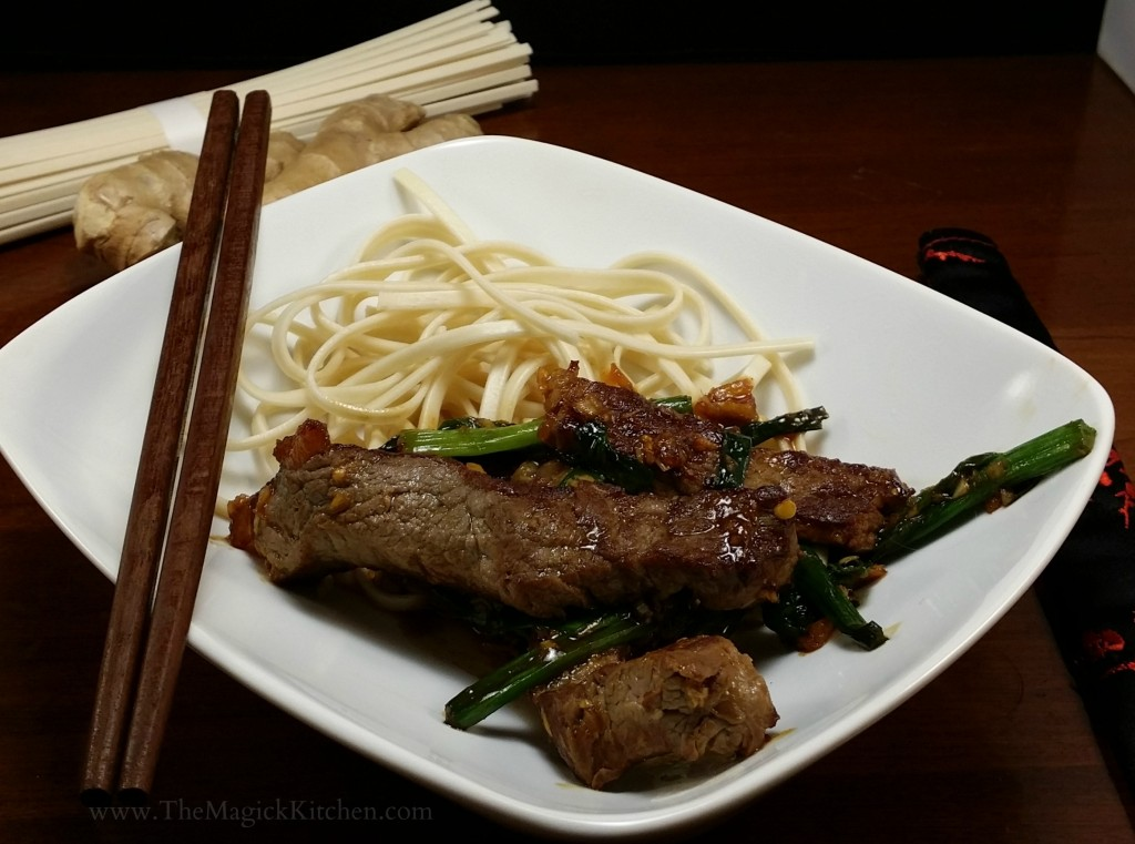 The Magick Kitchen Mongolian Beef Recipe2
