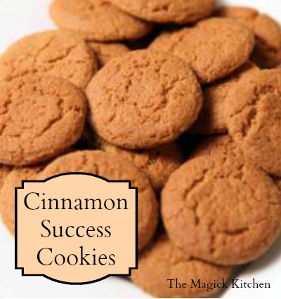 Cinnamon Success Cookie Recipe by The Magick Kitchen400x426