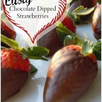 Lusty Chocolate Dipped Strawberries