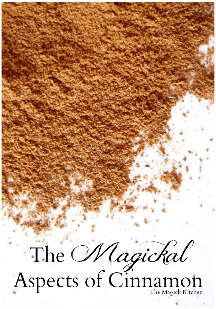The Magickal Aspects of Cinnamon from The Magick Kitchen700x1000