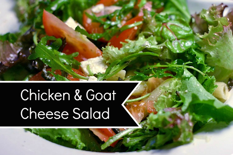 Chicken and Goat Cheese Salad The Magick Kitchen