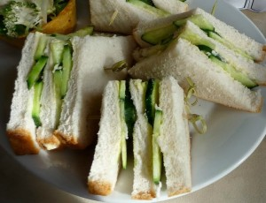 Cucumber Finger Sandwiches The Magick Kitchen