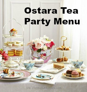 Ostara Tea Party Menu Them Magick Kitchen