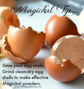 Magickal Tip Egg Shell Powders by The Magick Kitchen 400x426
