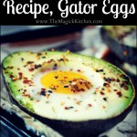 Paleo Breakfast Recipe, Gator Eggs