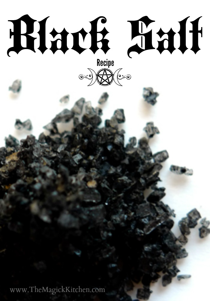 Black Salt Recipe The Magick Kitchen Salt Magick