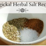Magickal Herbal Salt Recipes