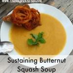 Sustaining Butternut Squash Soup