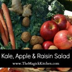 Kale, Apple & Raisin Salad