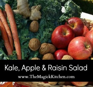 Kale Apple Raisin Salad The Magick Kitchen Recipe