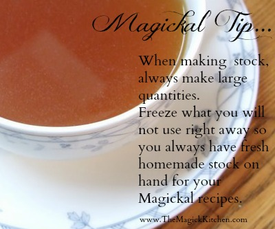 Stock Tip The Magick Kitchen