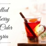 Mulled Cranberry Apple Cider Sangria