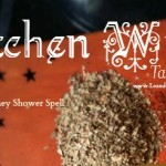 Kitchen Witch Table Talks Episode 3 Full Moon Money Shower Scrub