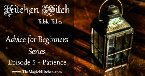 Episode 5 Kitchen Witch Table Talks Advice for Beginners Series 470x246