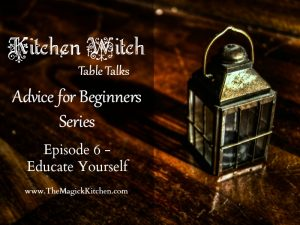 Episode 6 Kitchen Witch Table Talks Advice for Beginners Series 800x600
