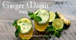 Ginger Mojito Recipe TheMagickKitchen 470x246