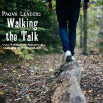 Walking the Talk Pagan Leadership – Kitchen Witch Table Talks