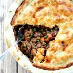 Individual Beef and Mushroom Pot Pies