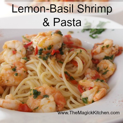 Lemon-Basil Shrimp & Pasta