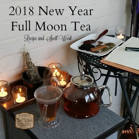 New Year Full Moon Tea