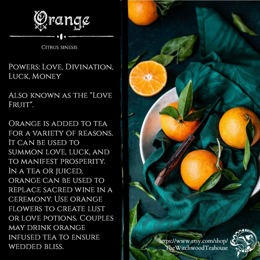 Magickal Aspects and Medical Benefits of Orange